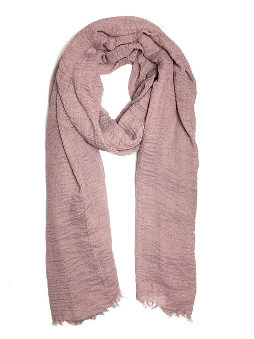 Crinkle Hijab | Light Mauve