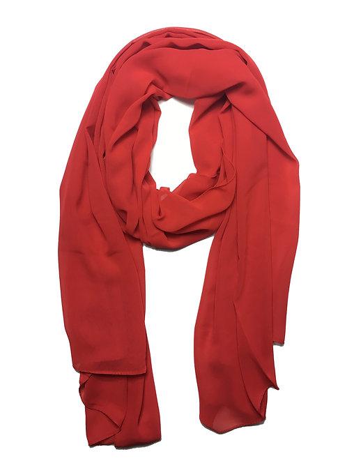 Premium Chiffon | Red