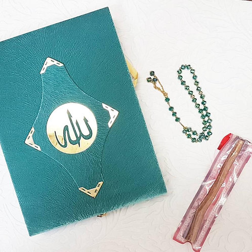 Velvet Quran Box