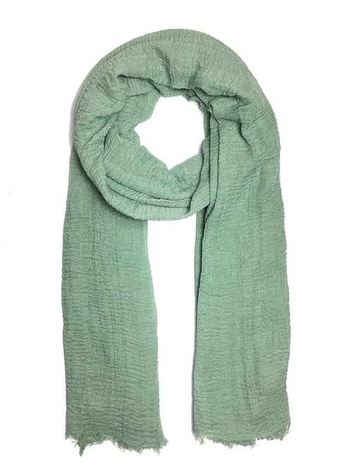 Crinkle Hijab | Mint Green
