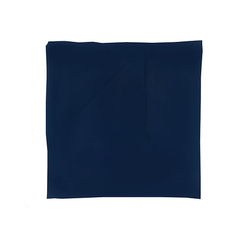 Plain Square Chiffon | Navy Blue