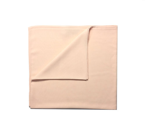 Plain Square Chiffon | Soft Peach