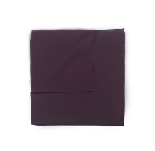 Plain Square Chiffon | Plum