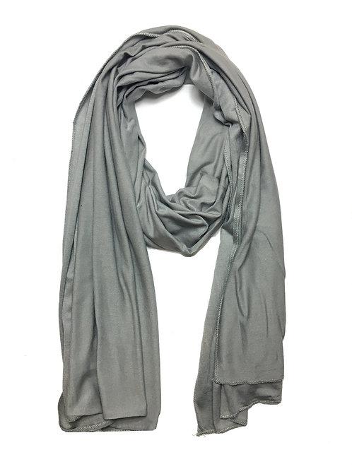 Grey Jersey Hijab