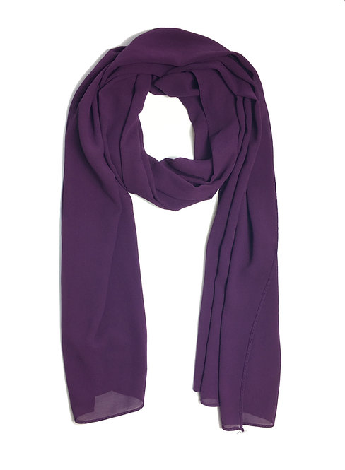 Crépe Chiffon   Purple