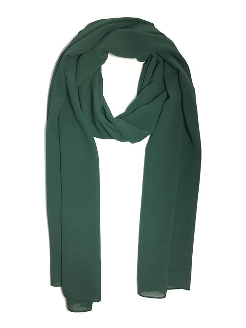 Crépe Chiffon | Forest Green
