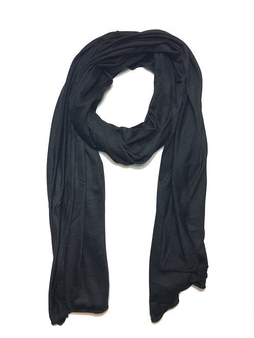 Black Jersey Hijab