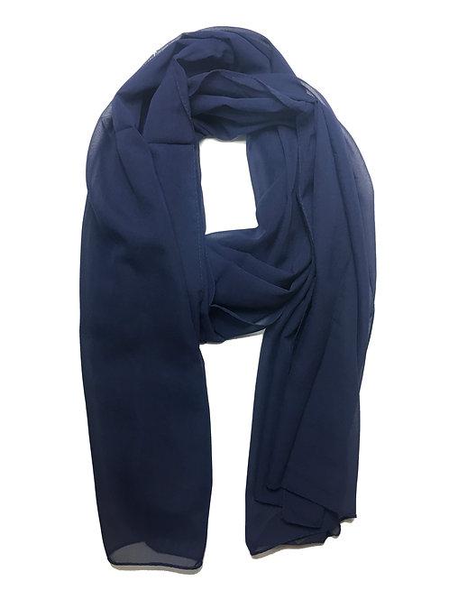 Premium Chiffon | Navy Blue
