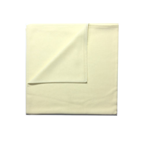 Plain Square Chiffon | Cream