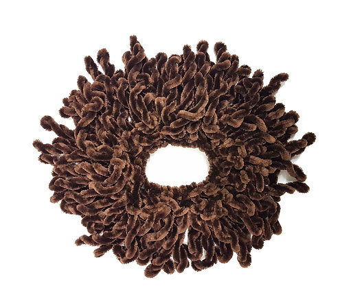 Volumizing Scrunchie | Brown