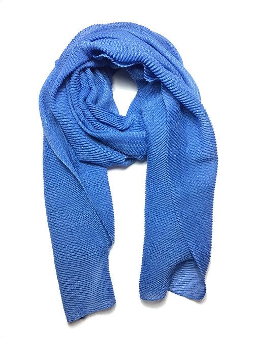Ripple Hijab | Denim Blue