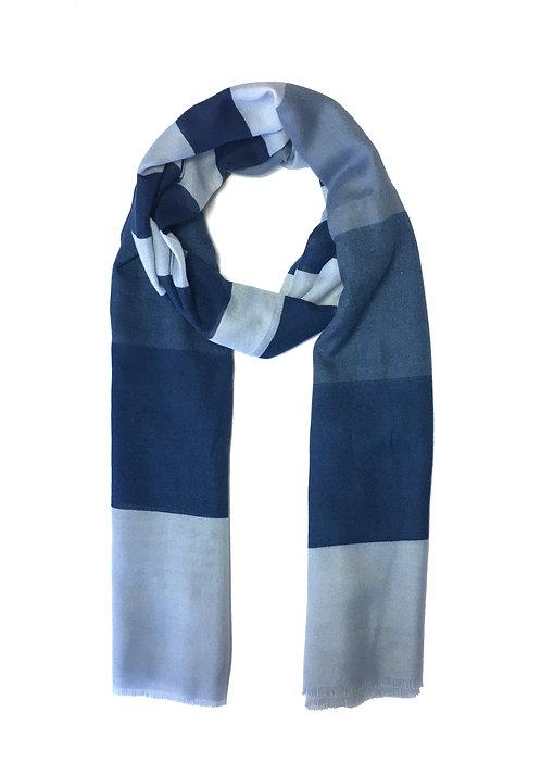 Striped Cotton | Navy Mix