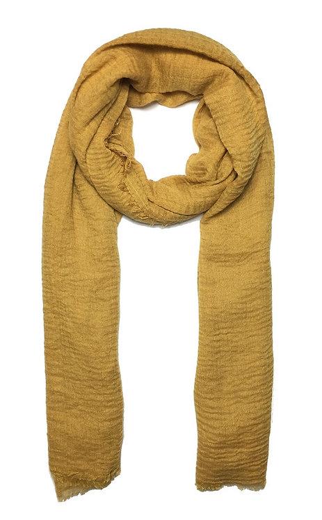 Crinkle Hijab | Mustard