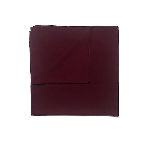 Plain Square Chiffon | Ruby
