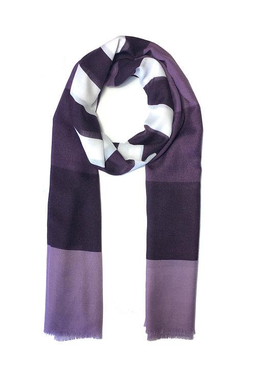 Striped Cotton | Grape Mix
