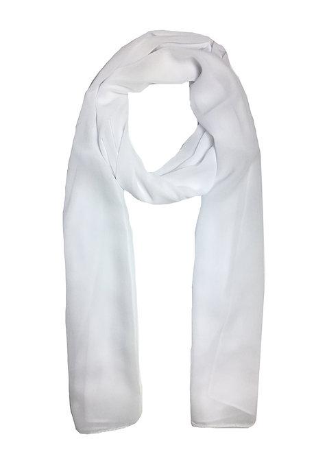 Crépe Chiffon | White