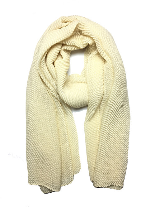 Ripple Hijab | Cream