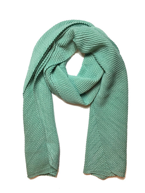 Ripple Hijab | Mint Green