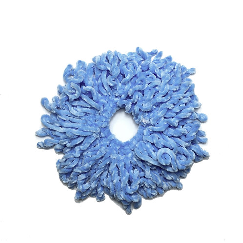 Volumizing Scrunchie | Blue