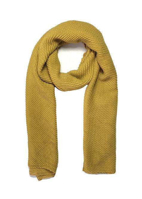 Ripple Hijab | Mustard