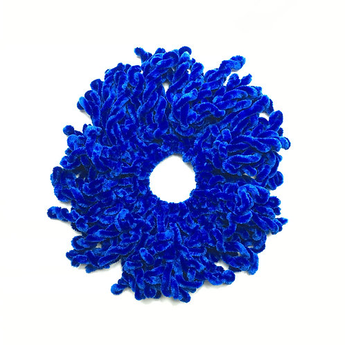 Volumizing Scrunchie | Royal Blue