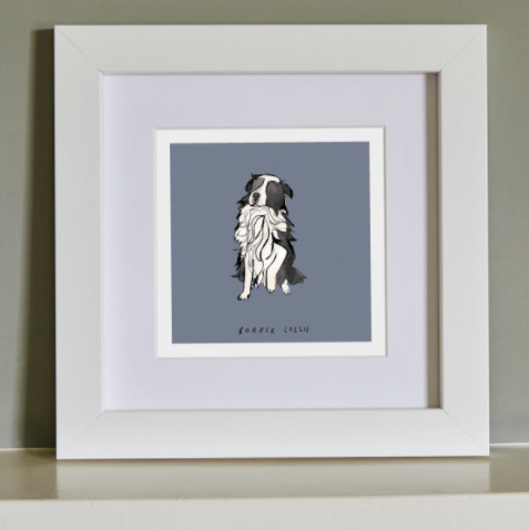"Katie Cardew ""Dog"" Framed Print"