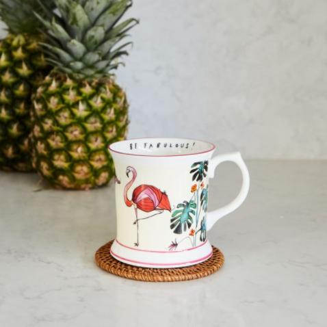 """Katie Cardew """"Flamingo"""" Mug"""