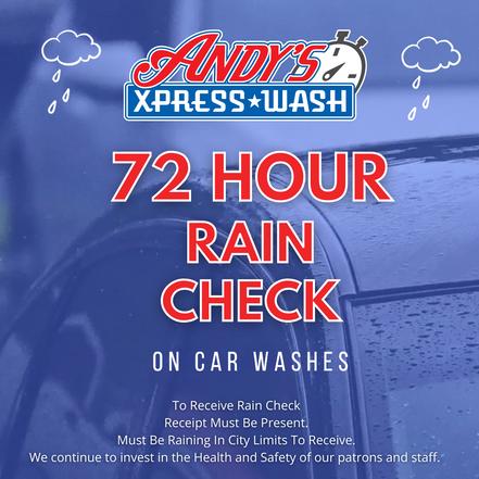 72 Hour Rain Check