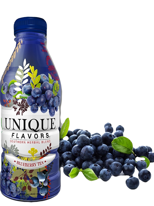 12 pk 100% All Natural Blueberry Tea