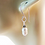 Thumbnail: Casual White Stick Pearl Earrings