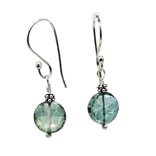 Green Mystic Quartz Drop Earrings