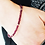 Thumbnail: Delicate Ruby and Sterling Silver Bracelet