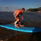 Janos surfing