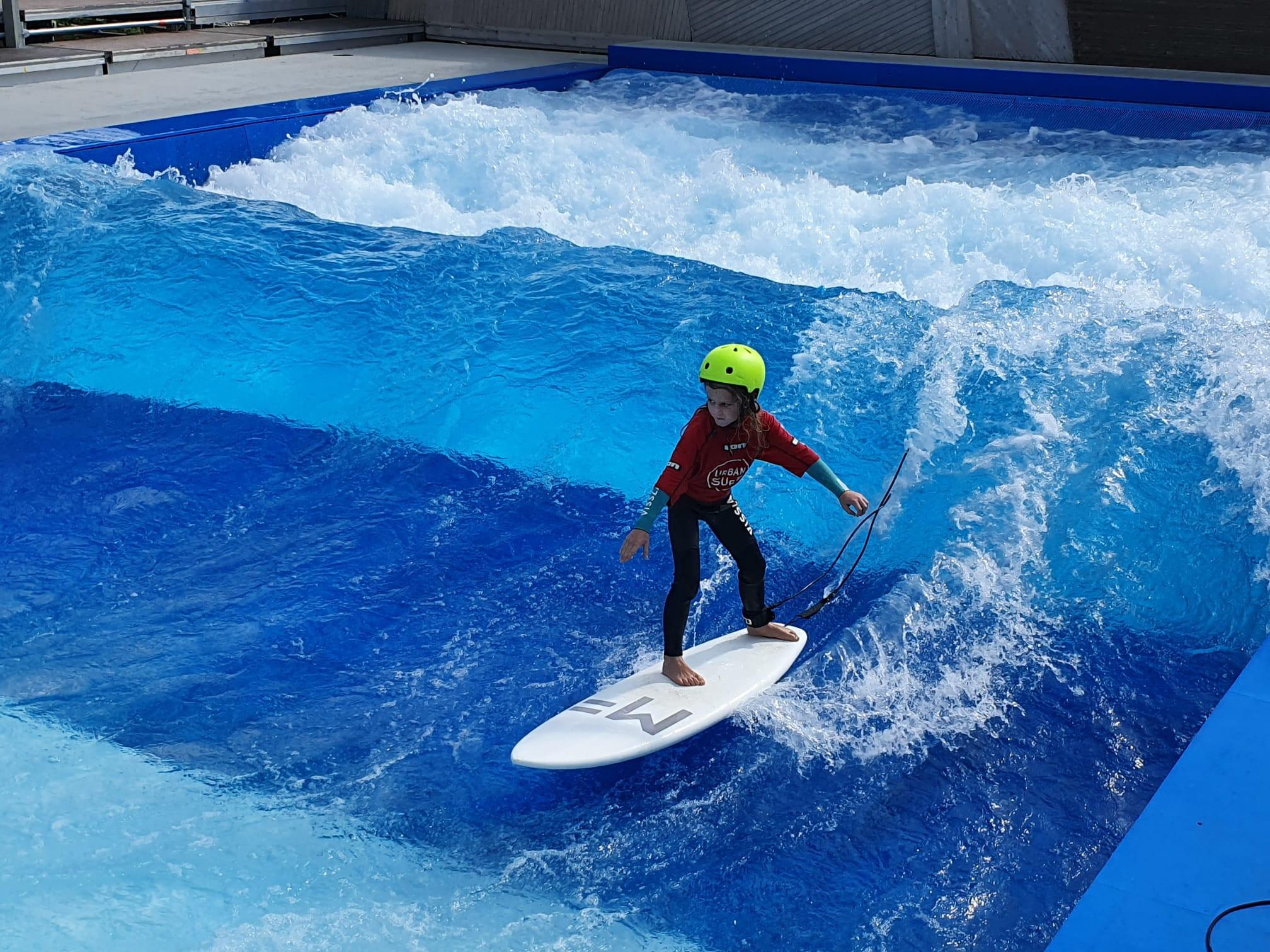 Fortgeschrittener Kurs Surfen 8-15 J.