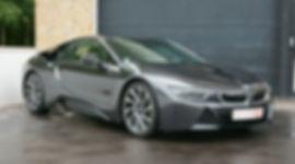 BMW i8 DARK SILVER