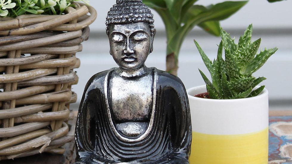 Black & Grey Buddha - Medium