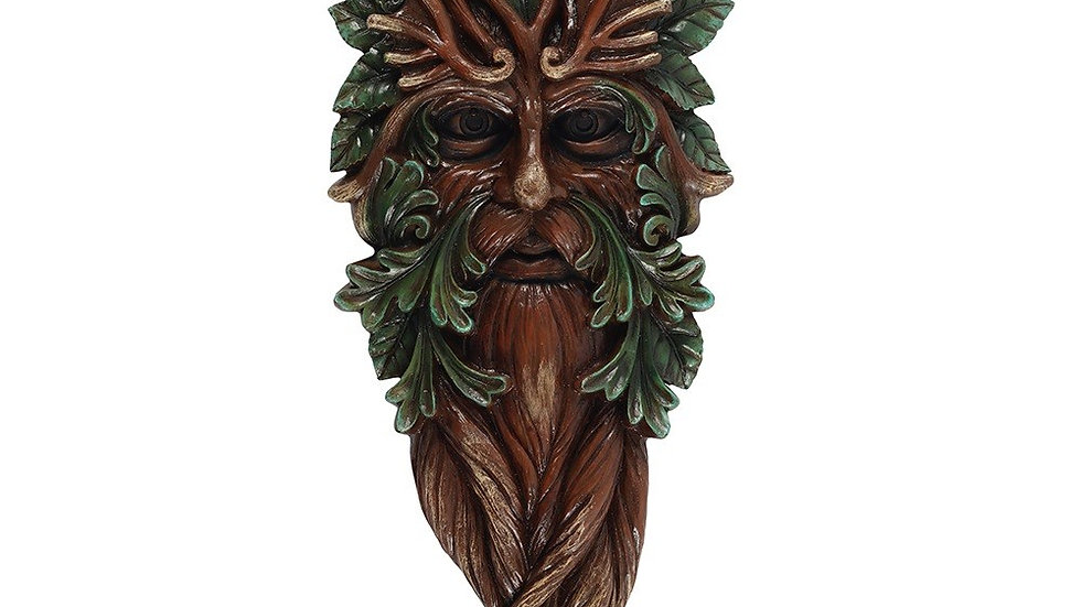 42X15CM GREEN MAN WALL PLAQUE