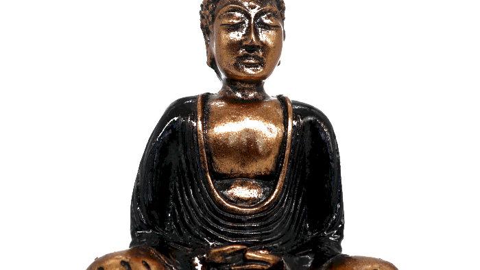 Black & Gold Buddha - Medium