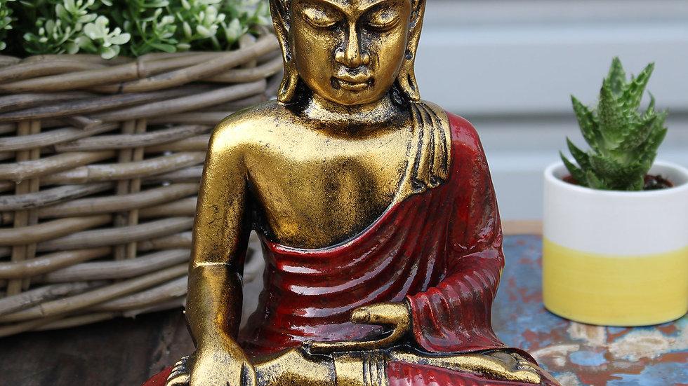 Red & Gold Buddha - Large