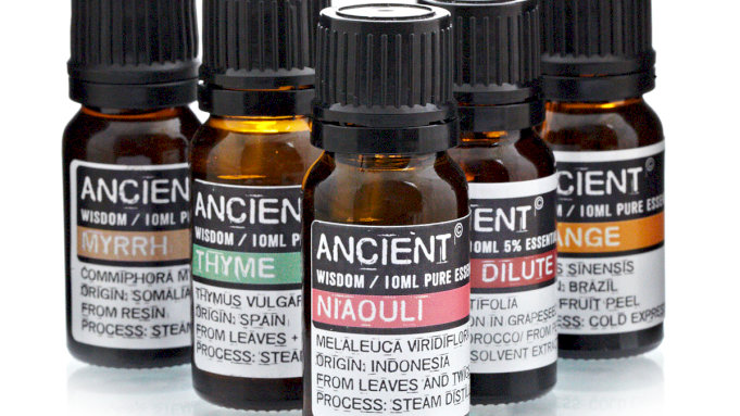 Ancient Wisdom Aromatherapy Essential Oils -10ml
