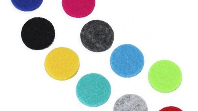 10x Aromatherapy Necklace Reusable Refill Pad