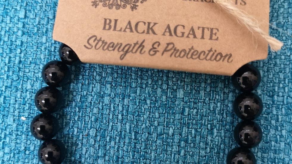 Black Agate Power Crystal