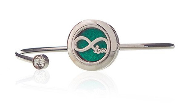 Aromatherapy Jewellery Crystal Bracelet - Infinite Love - 20mm