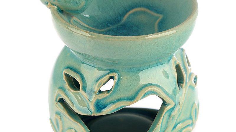 Eden Floral Bird Bath Ceramic Oil Burner