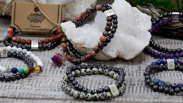 Magnetic Gemstone Bracelets
