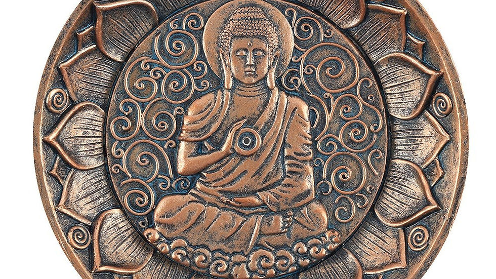 BUDDHA INCENSE HOLDER PLATE