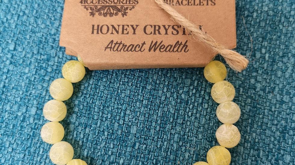Honey Crystal Power Bracelet