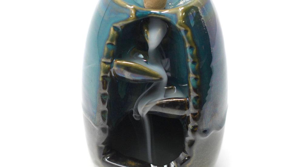 Backflow Incense Burner - Vase and Waterfall