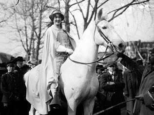 Inez Milholland: From Suffrage Celebrity to Women's Rights Icon