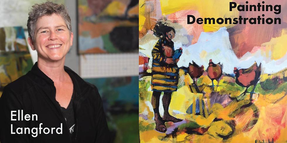 Ellen Langford Painting Demonstration